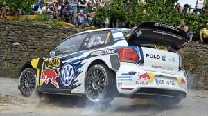 Volkswagen zvítězil na domácí německé rallye