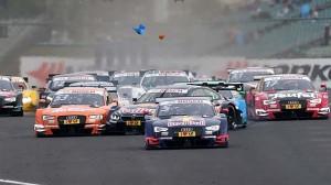 DTM v Maďarsku: málo diváků a drtivá převaha Audi