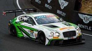 12 hodin Bathurst: stupně vítězů pro Bentley