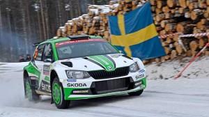Švédská rallye: WRC ovládla Toyota, WRC2 Škoda