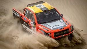 Prokop vystartoval do Qatar Crosscountry Rally
