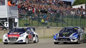 Rallycross v Belgii ovládl Kristoffersson