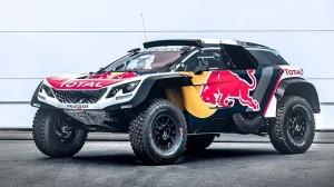 Nový Peugeot 3008 DKR Maxi nachystán na Silk Way Rally