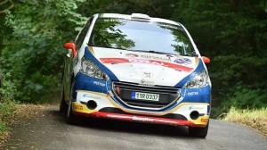 Peugeot Total Rally Cup na Rally Bohemia