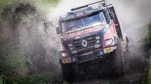 Kamiony po 3. etapě Silk Way Rally