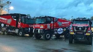 MKR Technology posílá na Dakar 2018 tři kamiony