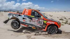 Video z 11 etapy Rallye Dakar v podání Martina Prokopa