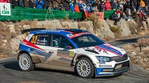 Monte Carlo: Kopecký s Fabií R5 ovládl WRC2