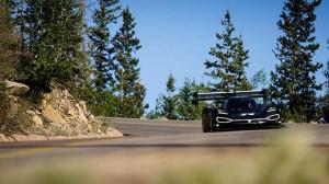 První test Volkswagenu I.D. R na Pikes Peaku