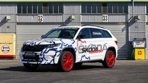 Škoda Kodiaq RS řádila na Nürburgringu