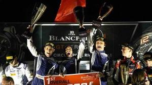 První vítězství pro Lexus Racing v seriálu Blancpain GT