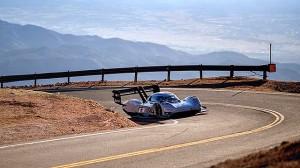 Systém pohonu závodního vozu I.D. R Pikes Peak