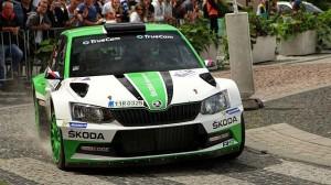 Startovní listině Rally Bohemia dominují škodovky