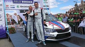 Kopecký vyhrál Rally Bohemia a získal mistrovský titul