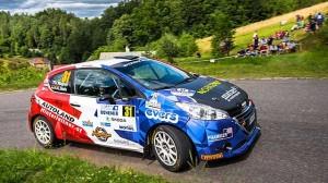 Tratě Rally Bohemia Peugeotům 208 R2 svědčily