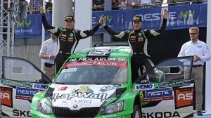 Finskou rallye ve WRC2 vyhrál soukromník Pietarinen