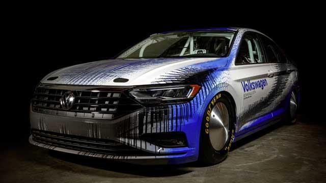 Volkswagen chce překonat rychlostní rekord na solném jezeře