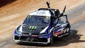 Johan Kristoffersson je mistrem světa v rallycrossu