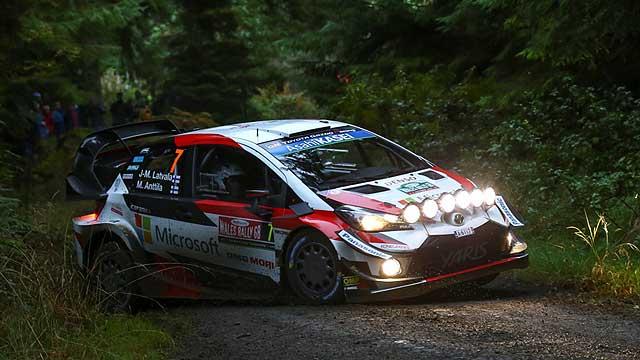 Toyota bojuje o rallyové tituly